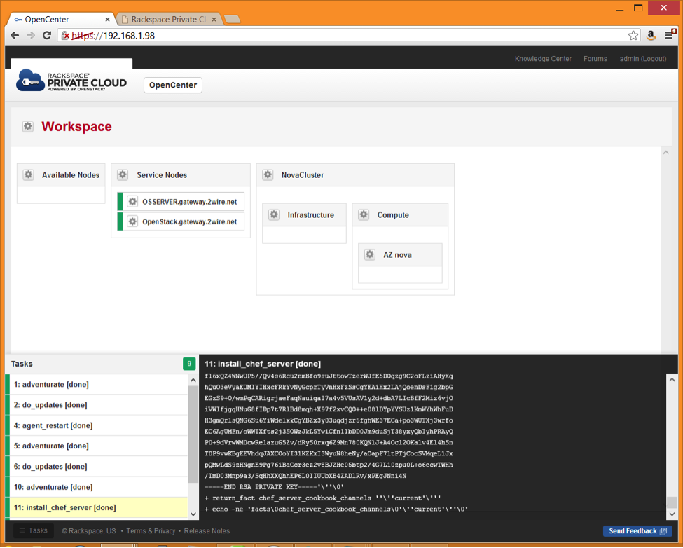Build a Private Cloud with OpenStack & RackSpace