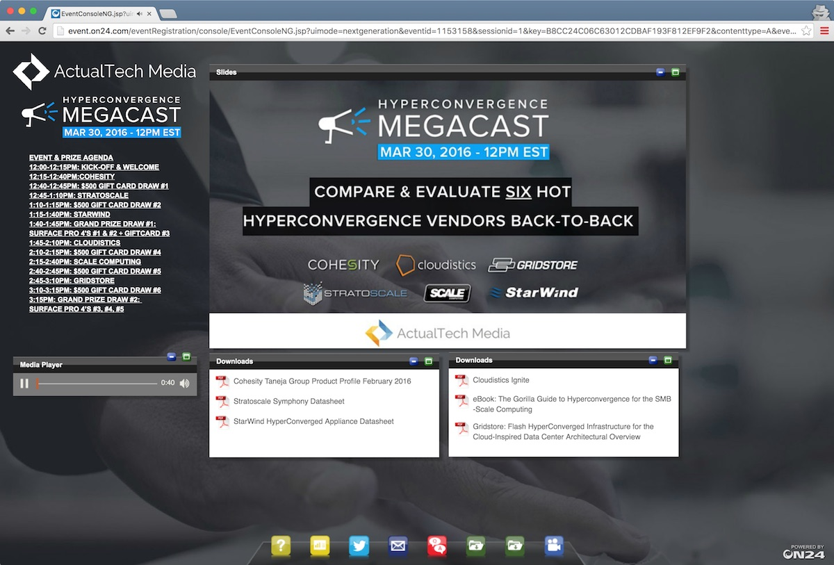 megacast-screenshot