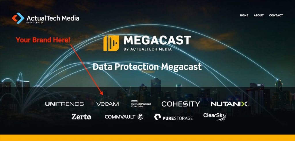 Vendor Branding from a Recent MegaCast